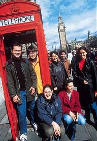 Edwards Language School students in central London