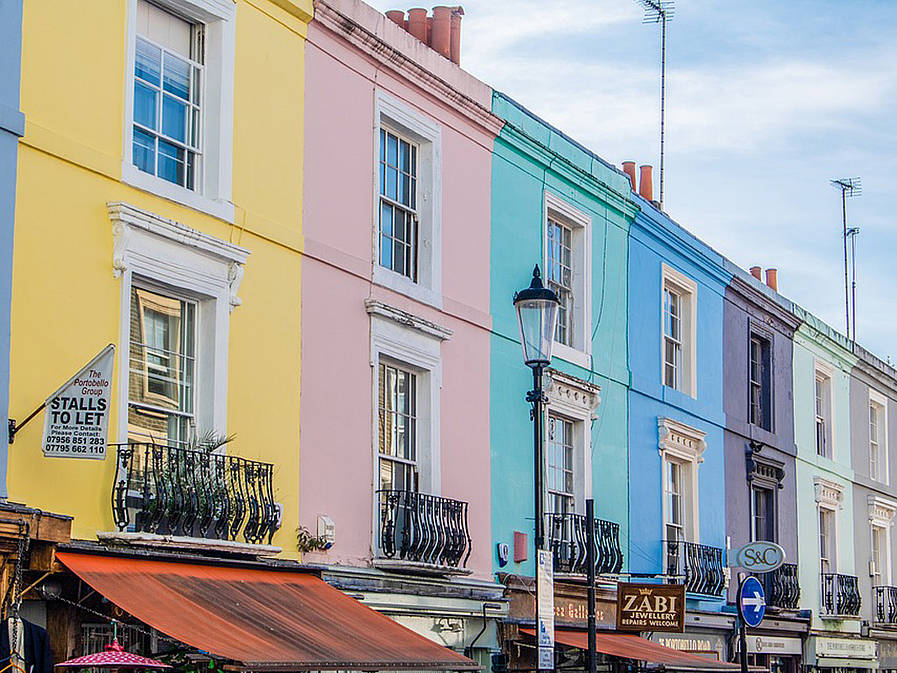 Portobello Road Market London